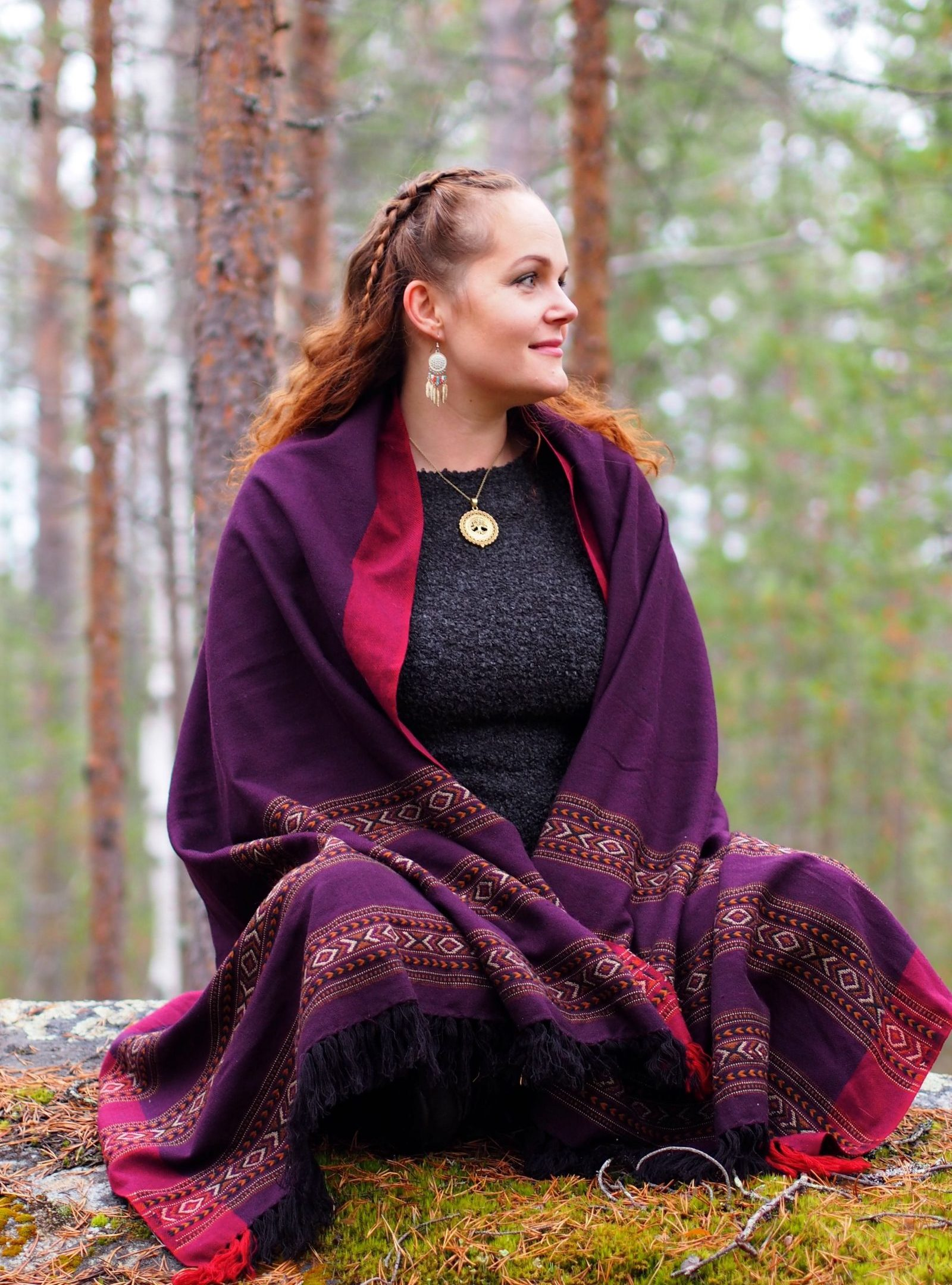 Sari Leinonen in Kemijärvi | Photo by Venla