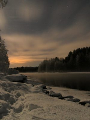 Winter night has its secrets | Photo by Mika Majaranta
